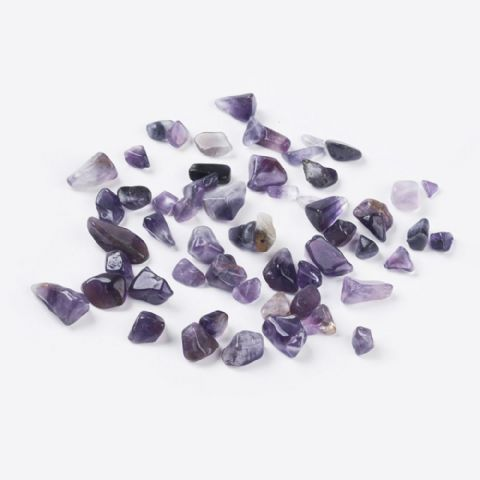 Chips - Natural Amethyst 5~8mm - 50g